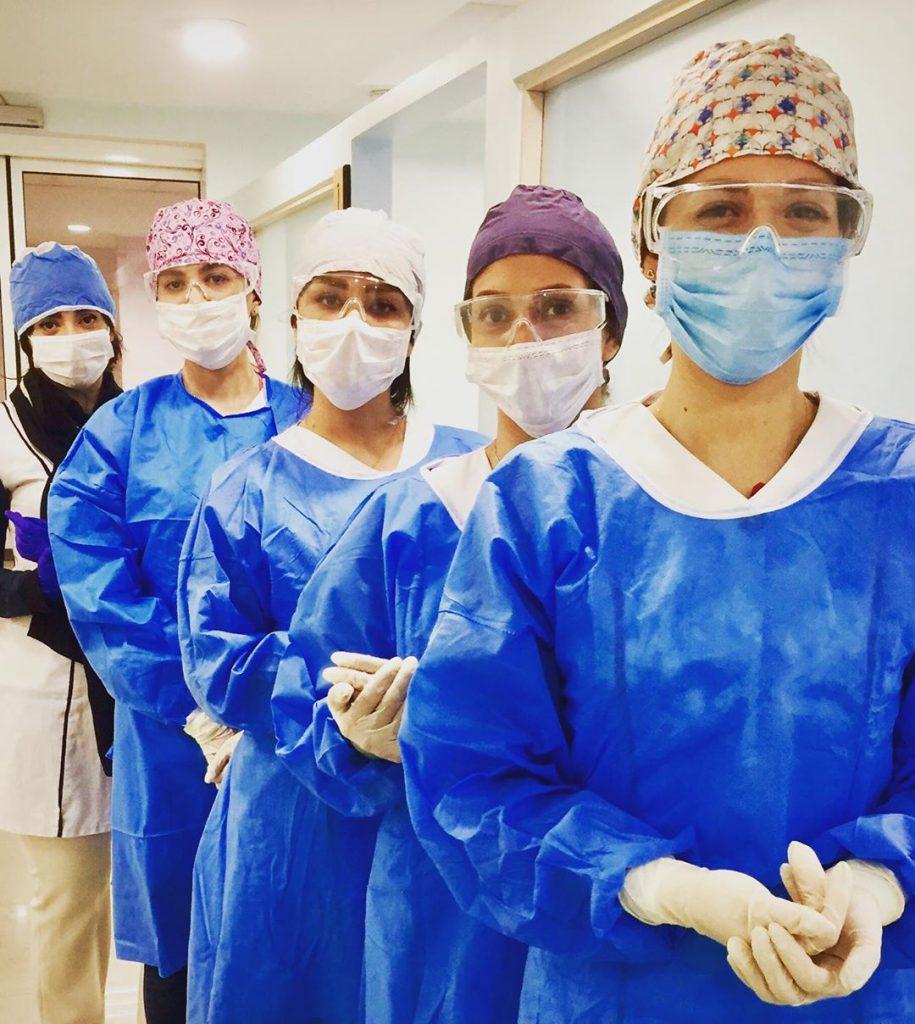 ارائه خدمات اورژانس کلینیک دندانپزشکی درسان در زمان شیوع کرونا